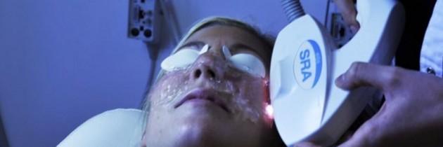 Plej udseendet med laserbehandlinger